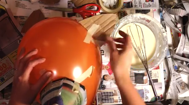 Adding ears to the mask