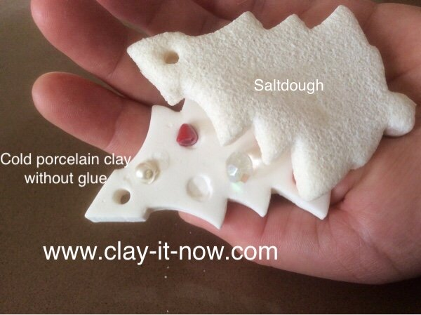 Cold Porcelain Clay without Glue