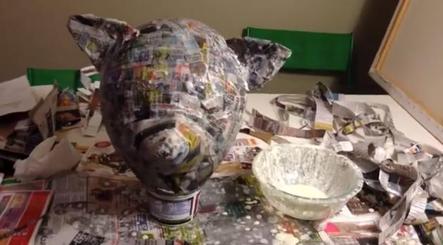 Fox mask drying