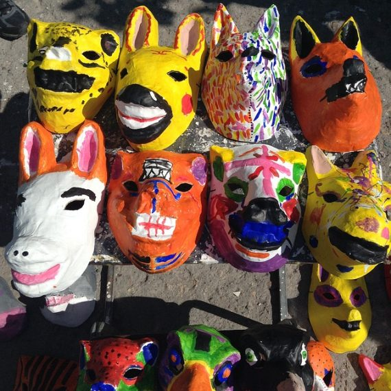 How to Make a Paper Mache Mask – 5 Ways - Tiny Fry