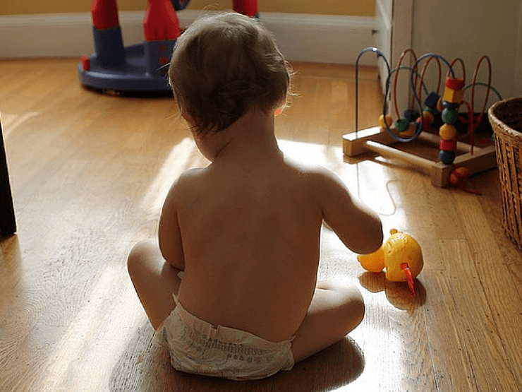 Age-appropriate toys for a 6-month old