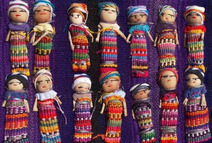 Latin American worry dolls