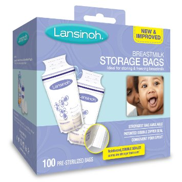 Lanisnoh Breastmilk Storage Bags