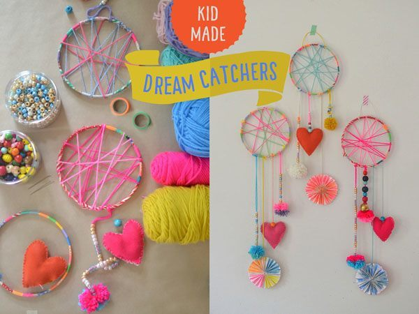how to make a dream catcher for kids