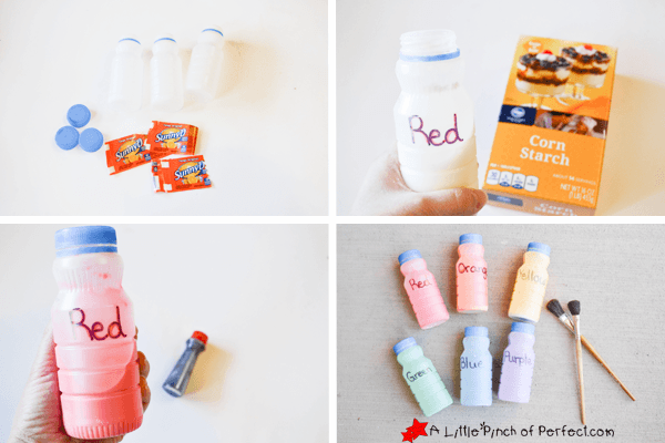 How to make chalk paint for kids