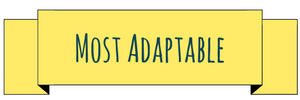 Most adaptable